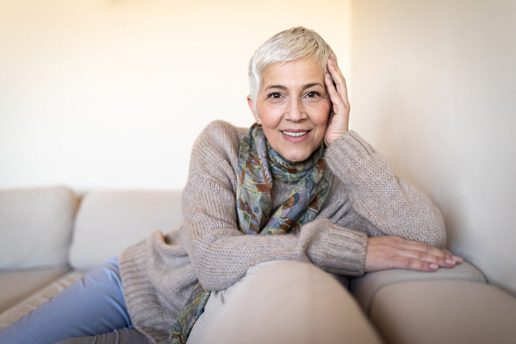 Older Woman Enjoys Her Facelift Results with Dr. Conway